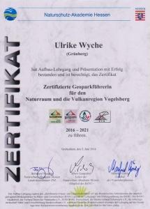 Geoppark-zertifikat
